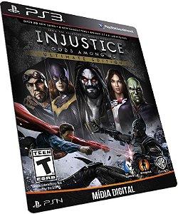 Injustice: Gods Among Us Ultimate Edition PS3 PSN MÍDIA DIGITAL