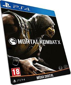 Mortal Kombat X PS4 PSN MÍDIA DIGITAL
