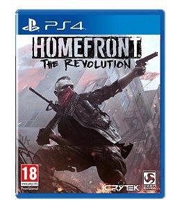 Homefront: The Revolution para PS4 MÍDIA FÍSICA