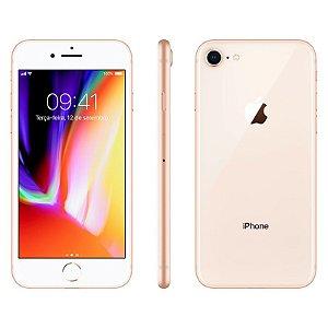 iPhone 8 256gb Apple 4G Desbloqueado Dourado - Produto de Vitrine Usado com Garantia de 90 dias