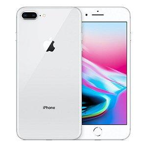 iPhone 8 Plus 64gb Apple 4G Desbloqueado Prateado - Produto de Vitrine Usado com Garantia de 90 dias