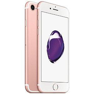 iPhone 7 32gb Apple 4G LTE Desbloqueado Rosa - Produto de Vitrine Usado com Garantia de 90 dias