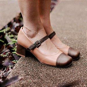 Sapato Boneca Gisele Marrom