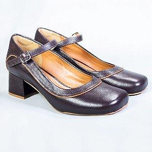 Sapato Boneca Marta Marrom