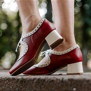 Sapato Boneca Louli Bordô