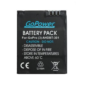 Bateria GoPower Recarregável para GoPro Hero 3