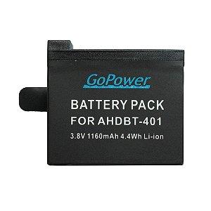 Bateria GoPower Recarregável para GoPro Hero 4