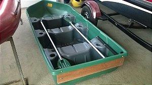 Barco de Plástico (PEAD) Cor verde - (Frete não incluso)