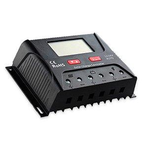 Controlador de Carga 40A - PWM (LCD) - HP2440 - SRNE