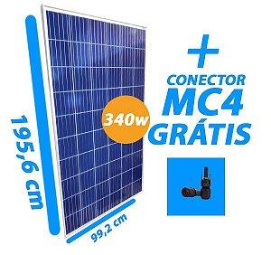 Placa Solar 340W - Resun Solar - Com conector MC4