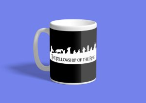 Caneca The Fellowshio of the Ring 325ml