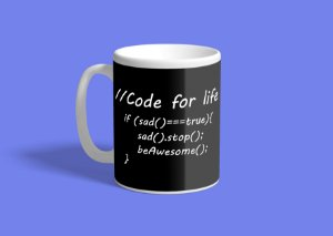 Caneca Programming Be Awesome 325ml