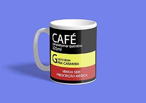Caneca Café Parasetomar Quentim 325ml
