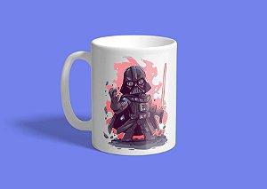 Caneca Darth Vader Red Art 325ml