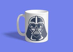 Caneca Darth Vader Blue art  325ml