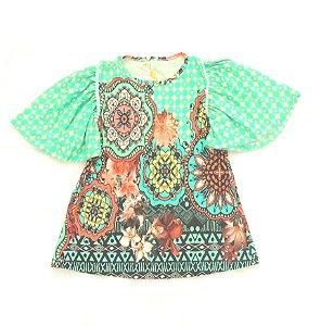 Vestido Ciranda Verde