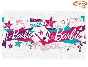 Toalha de Lancheira Infantil Barbie Rock'n Royals - Lepper