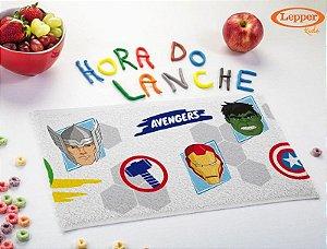 Toalha de Lancheira Infantil Avengers - Lepper