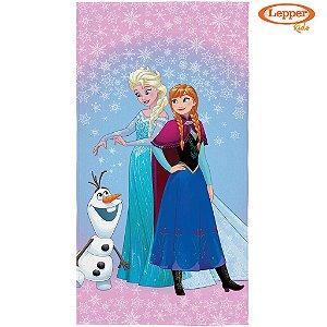 Toalha de Banho Aveludada Frozen - Lepper