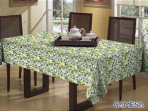 Toalha de Mesa Colore Impermeável Siciliano 1,45x1,45m - Camesa
