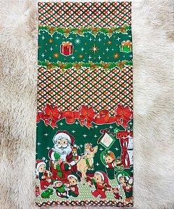 Toalha de Mesa Oxford Natal A Quadrada 1,40x1,40m - Tardivel