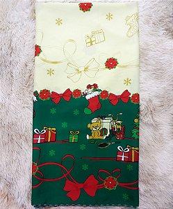 Toalha de Mesa Oxford Natal E Quadrada 1,40x1,40m - Tardivel