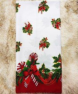Toalha de Mesa Oxford Natal D Retangular 1,98x1,40m - Tardivel