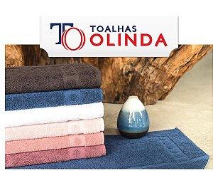 Tapete Piso para Banheiro Atoalhado 50x65cm - Olinda
