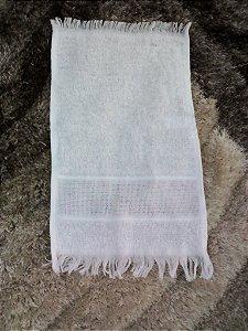 Toalha Social para Bordar Gorzan soft Cor Branco 21x33cm