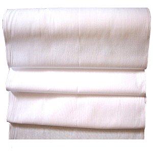 Rolo de Tecido Branco Santa Margarida PP Extra TRCF 100% Algodão 30m X 76cm