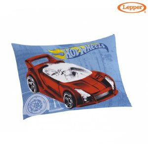 Fronha Avulsa Estampada Hot Wheels - Lepper