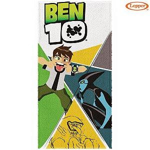 Toalha Felpuda de Banho Ben 10 (7) - 60X120cm - Lepper
