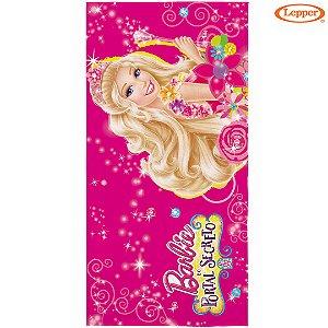 Toalha Felpuda de Banho Barbie e o Portal Secreto Estampa 3 - 60X120cm - Lepper
