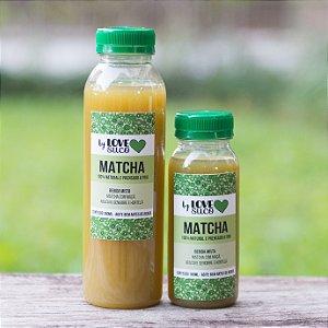 MATCHA | Chá verde com maçã, abacaxi, gengibre e hortelã