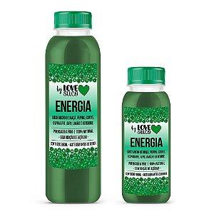 ENERGIA | Maçã, pepino, couve, espinafre, salsão, limão e gengibre