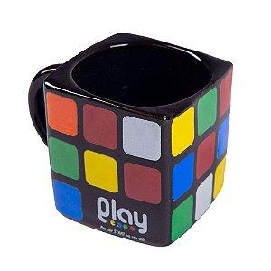 Caneca Cubo Mágico Quadrada