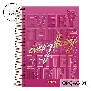 Agenda Espiral Love Pink 2022 Tilibra