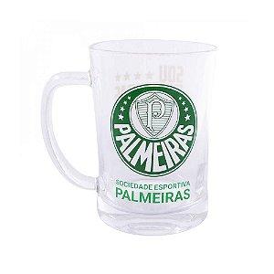 Caneca De Vidro 660ml - Palmeiras