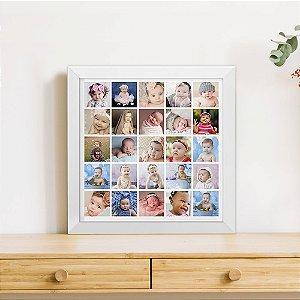Quadro 25 Fotos Frames
