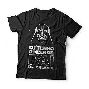 Camiseta Infantil - Melhor Pai da Galaxia