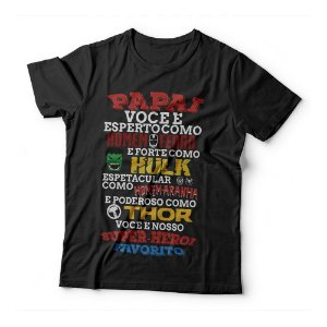 Camiseta Infantil - Herói Favorito