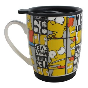 Caneca Bart Careta Simpson