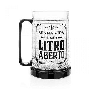 CANECO CONGELAVEL LITRO ABERTO