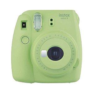 Câmera Instantânea Instax Mini 9 Verde Lima