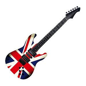 Painel De Fotos Guitarra - Reino Unido