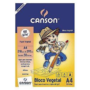 PAPEL VEGETAL A4 CANSON 60 G/M