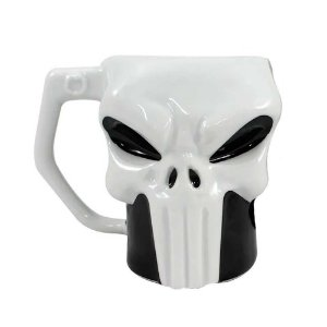 CANECA FORMATO 3D PUNISHER