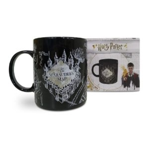 CANECA TERMOSSENSIVEL HARRY POTTER MAPA MAROTO
