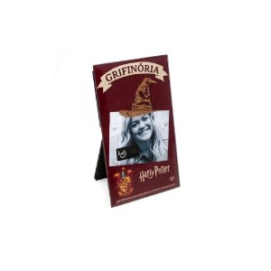 PORTA RETRATO CARTAO HARRY POTTER GRIFINORIA