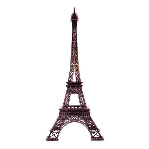 Torre Eiffel Paris Decorativa Metal 25cm